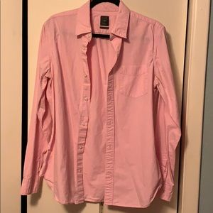 GAP Dress Shirt Size M Gently PreOwned Pink